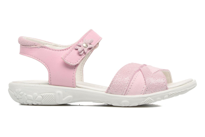 Sandales et nu-pieds Ricosta Bianca Rose vue derrière