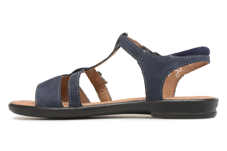 Sandales et nu-pieds Ricosta Kalja Bleu vue face