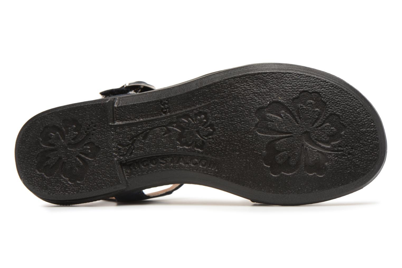 Sandales et nu-pieds Ricosta Kalja Bleu vue haut