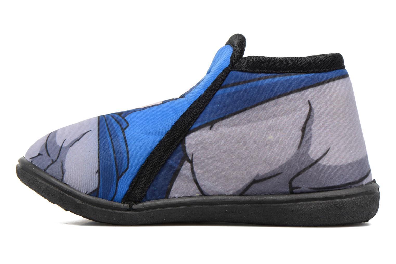 Pantofole Batman Bat Bilien Grigio immagine frontale