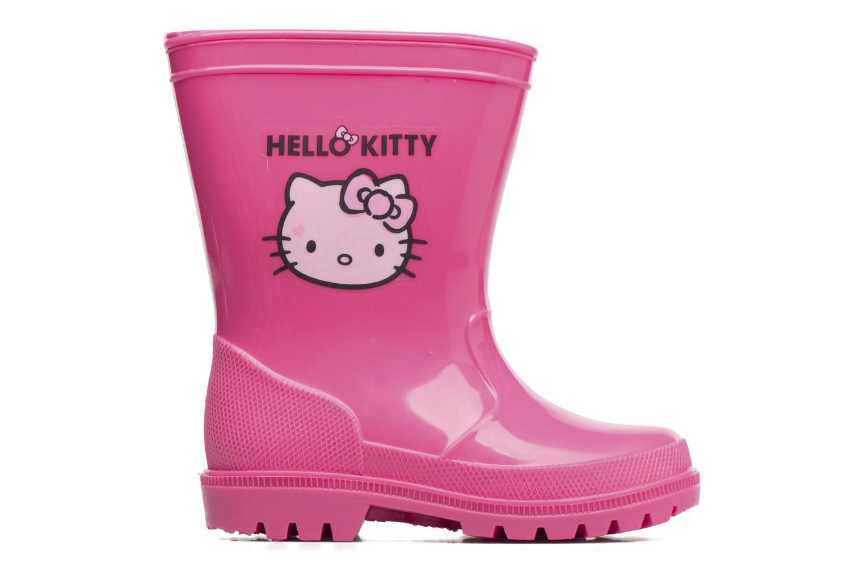 Bottes Hello Kitty Hk Falbata Rose vue derrière