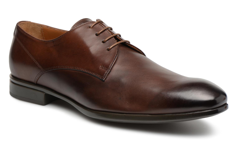 Doucal's OSCAR Vichy (Marron) - Chaussures à lacets chez Sarenza (313469)