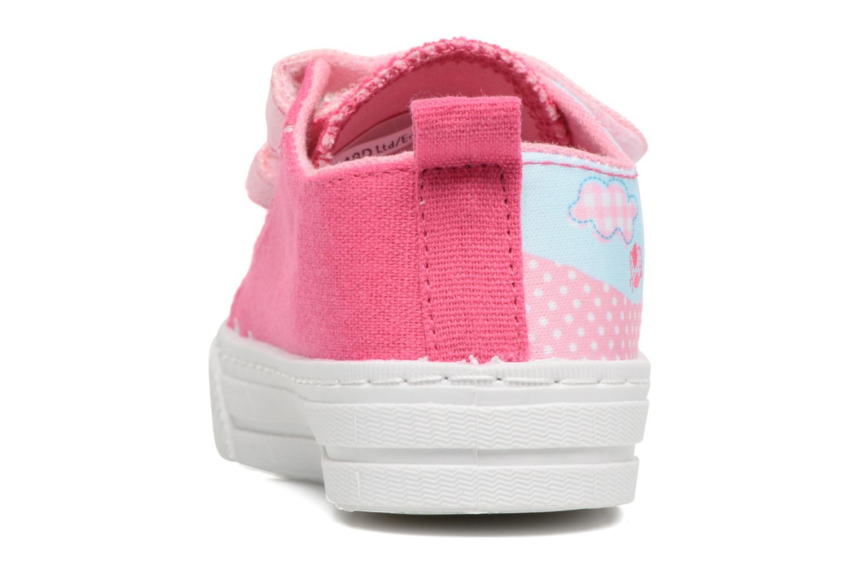 Baskets Peppa Pig PP ADELME Rose vue droite