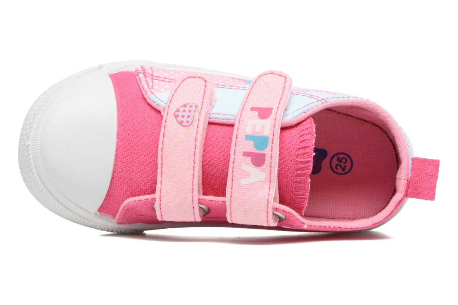 Trainers Peppa Pig PP ADELME Pink view from the left