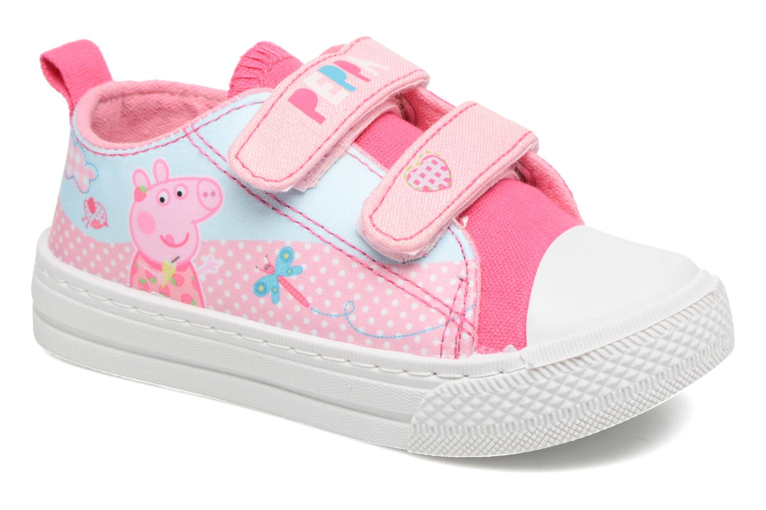 Trainers Peppa Pig PP ADELME Pink detailed view/ Pair view