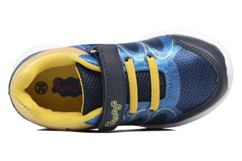 Baskets Peppa Pig PP NAUTILUS Bleu vue gauche