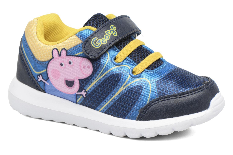 Baskets Peppa Pig PP NAUTILUS Bleu vue détail/paire
