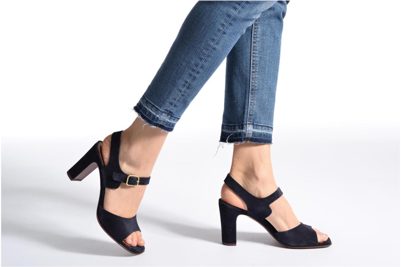 Sandales et nu-pieds Chie Mihara Chuli Bleu vue bas / vue portée sac