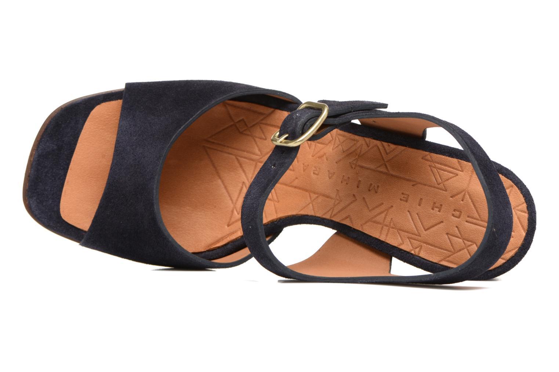 Sandales et nu-pieds Chie Mihara Chuli Bleu vue gauche