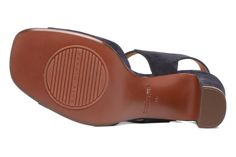Sandales et nu-pieds Chie Mihara Chuli Bleu vue haut