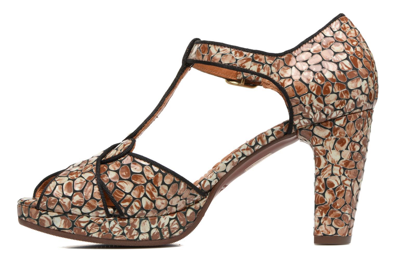 Sandales et nu-pieds Chie Mihara Giki Marron vue face