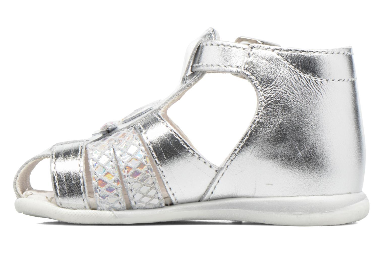 Sandali e scarpe aperte Bopy Zetadi Argento immagine frontale