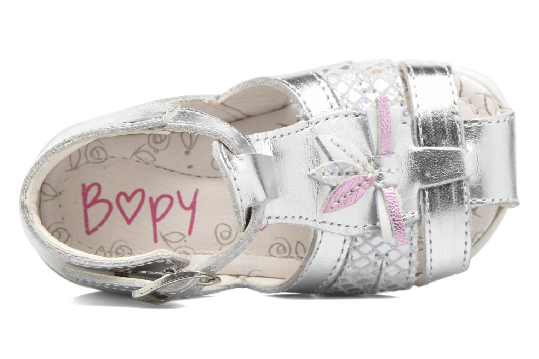 Sandali e scarpe aperte Bopy Zetadi Argento immagine sinistra