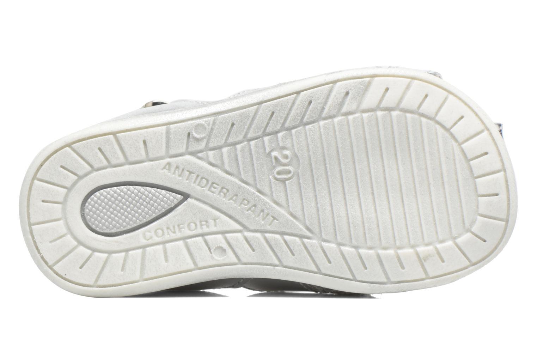 Sandali e scarpe aperte Bopy Zetadi Argento immagine dall'alto