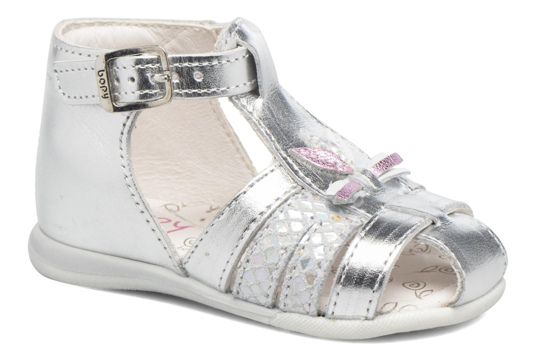 Sandaler Bopy Zetadi Sølv detaljeret billede af skoene