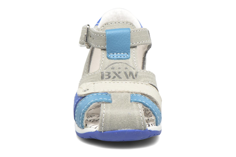Sandales et nu-pieds Bopy Zavapa Gris vue portées chaussures