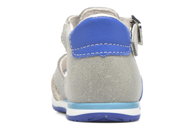 Sandales et nu-pieds Bopy Zavapa Gris vue droite