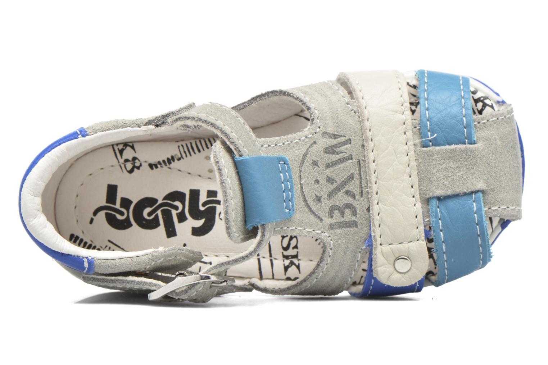 Sandales et nu-pieds Bopy Zavapa Gris vue gauche