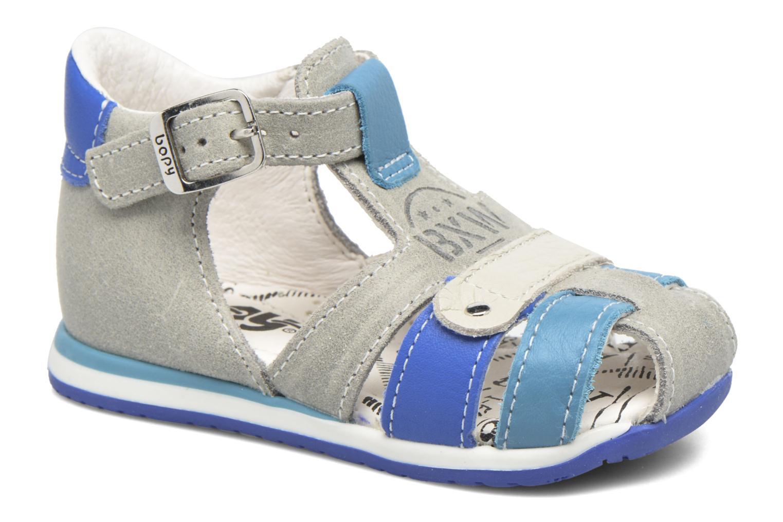 Sandales et nu-pieds Bopy Zavapa Gris vue détail/paire