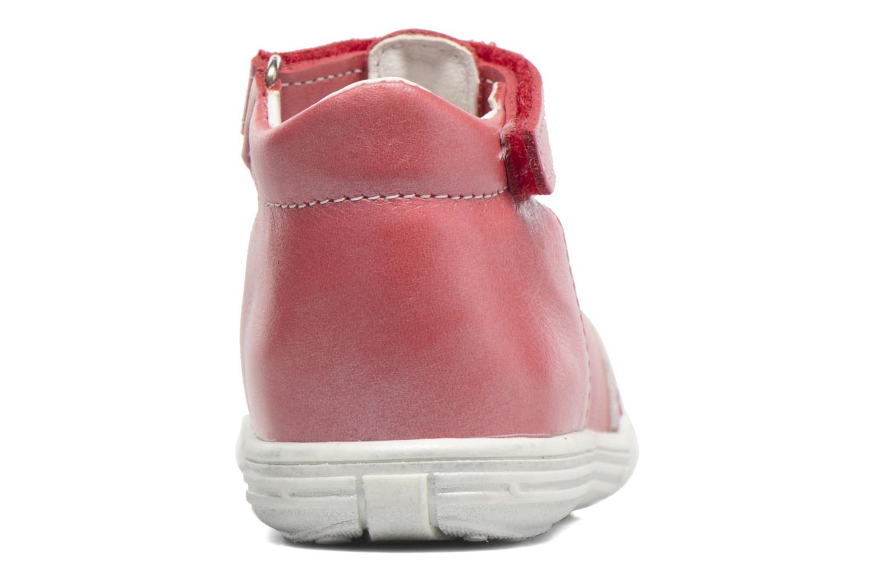 Sandales et nu-pieds Bopy Zolita Rouge vue droite