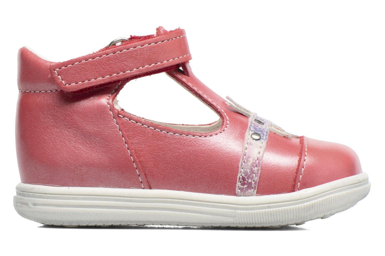 Sandales et nu-pieds Bopy Zolita Rouge vue derrière