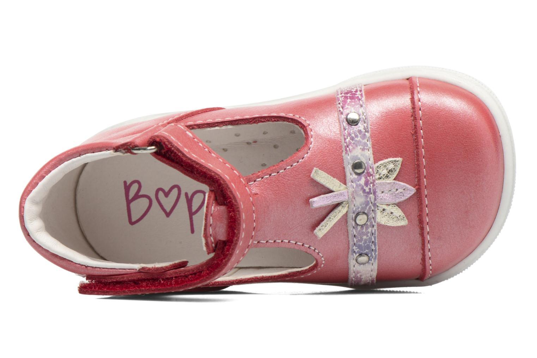Sandales et nu-pieds Bopy Zolita Rouge vue gauche