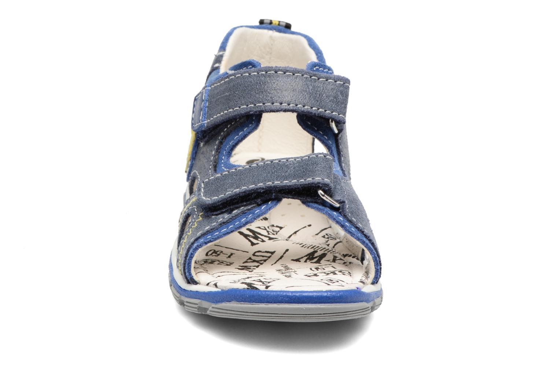 Sandales et nu-pieds Bopy Berif Bleu vue portées chaussures
