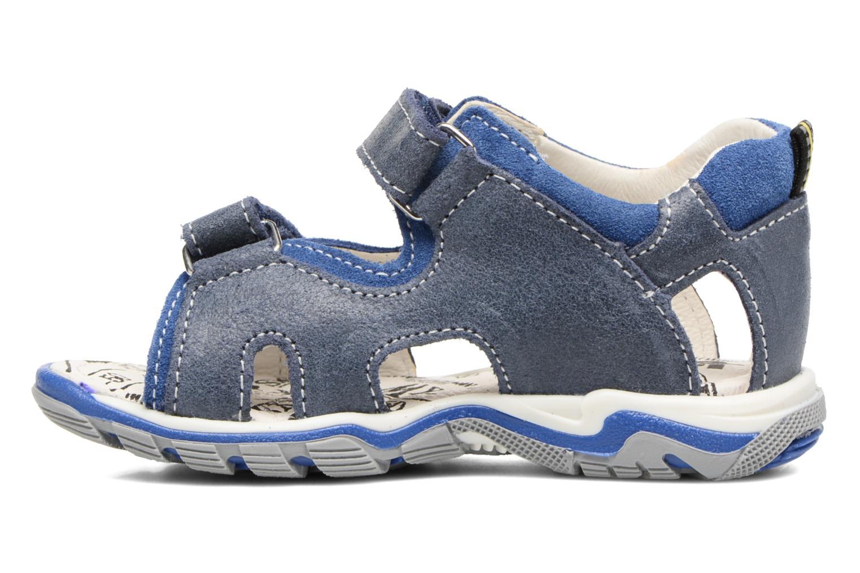 Sandales et nu-pieds Bopy Berif Bleu vue face
