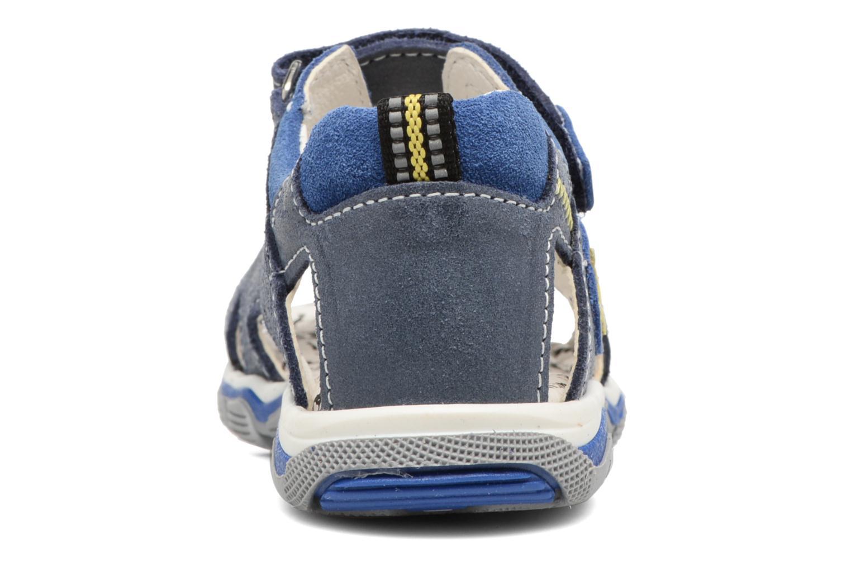 Sandales et nu-pieds Bopy Berif Bleu vue droite