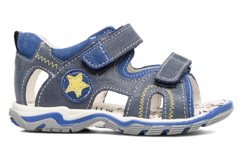 Sandales et nu-pieds Bopy Berif Bleu vue derrière
