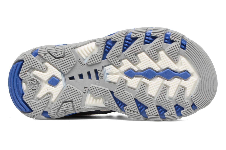 Sandales et nu-pieds Bopy Berif Bleu vue haut
