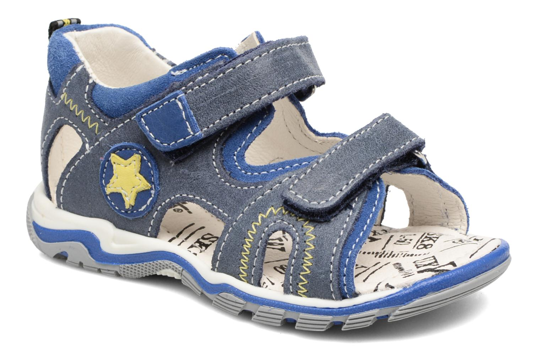 Sandales et nu-pieds Bopy Berif Bleu vue détail/paire
