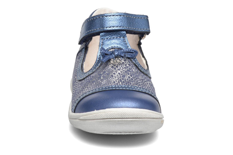 Bottines d'été Bopy Bolani Bleu vue portées chaussures