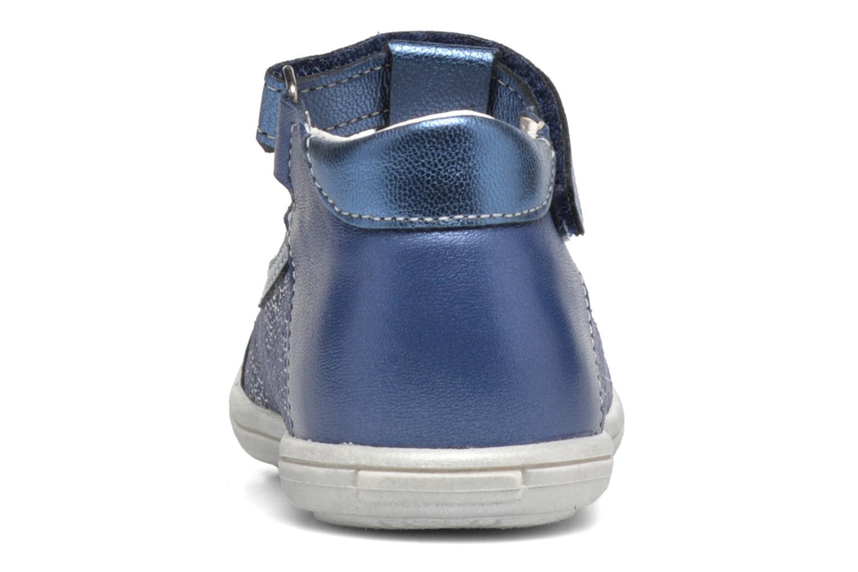 Botines de verano Bopy Bolani Azul vista lateral derecha
