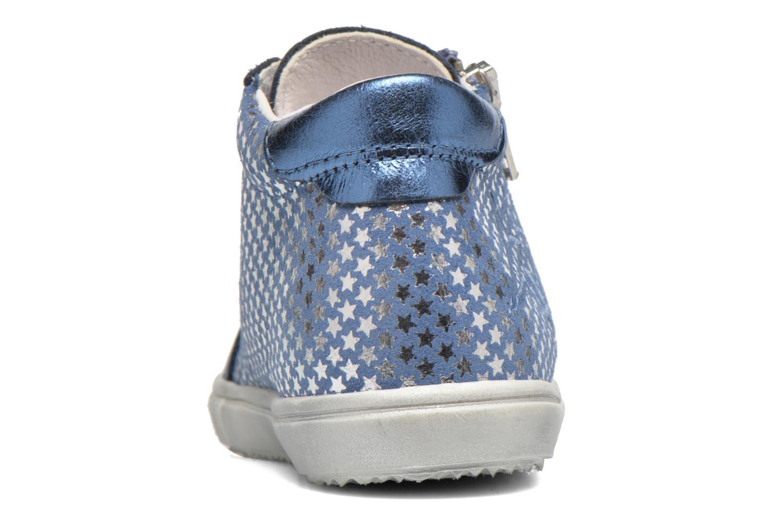 Baskets Bopy Bavana Bleu vue droite