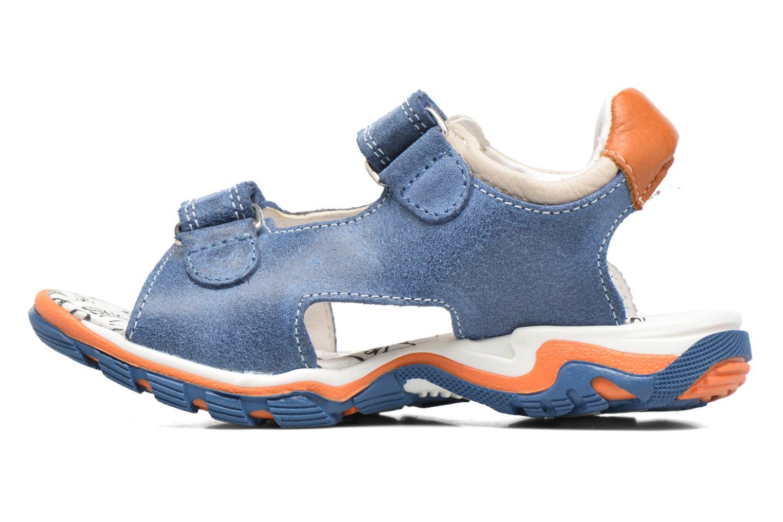 Sandales et nu-pieds Bopy Eblake Bleu vue face