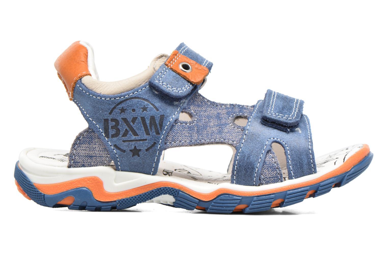Sandales et nu-pieds Bopy Eblake Bleu vue derrière