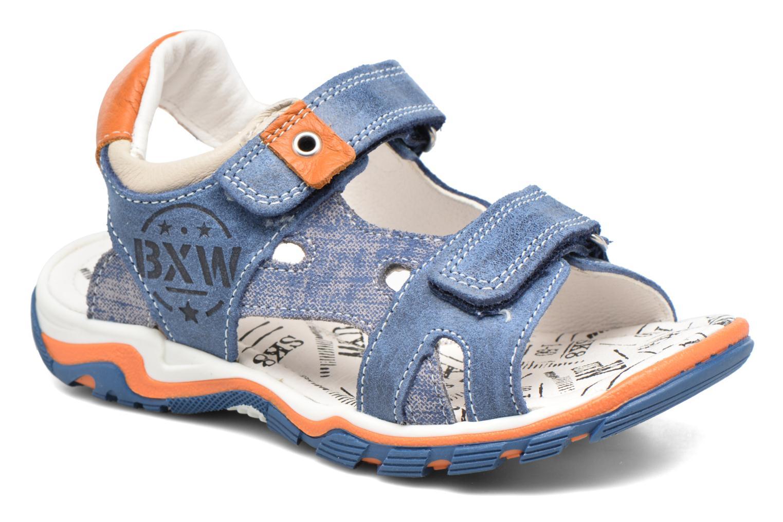 Sandales et nu-pieds Bopy Eblake Bleu vue détail/paire