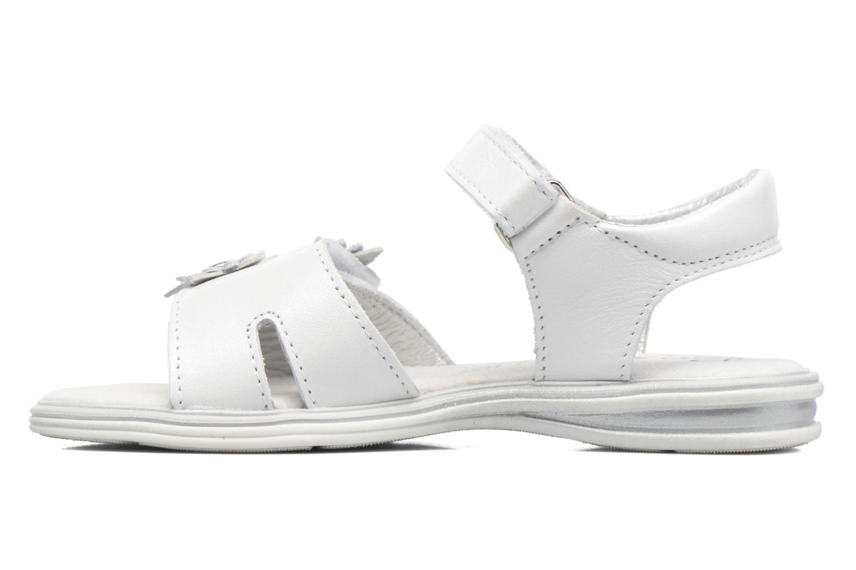 Sandalen Bopy Elisco weiß ansicht von vorne