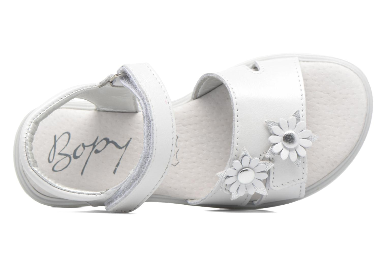 Sandali e scarpe aperte Bopy Elisco Bianco immagine sinistra