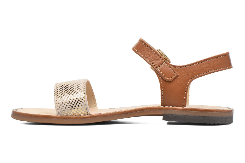 Sandales et nu-pieds Bopy Epouf Marron vue face