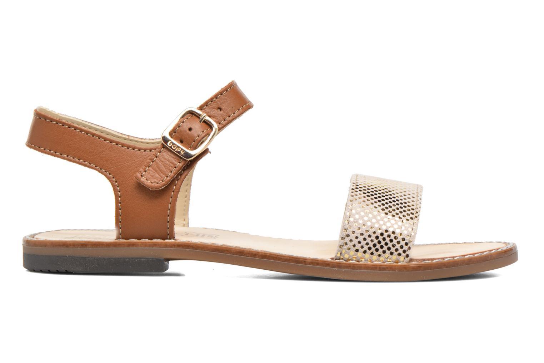 Sandales et nu-pieds Bopy Epouf Marron vue derrière