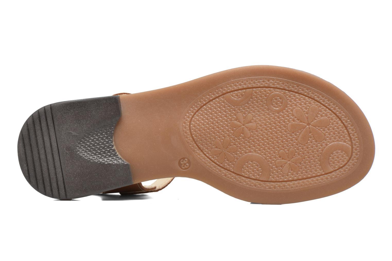 Sandales et nu-pieds Bopy Epouf Marron vue haut
