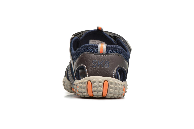 Sandales et nu-pieds Bopy Tupaco Marron vue droite