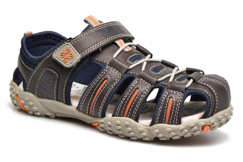 Sandales et nu-pieds Bopy Tupaco Marron vue détail/paire