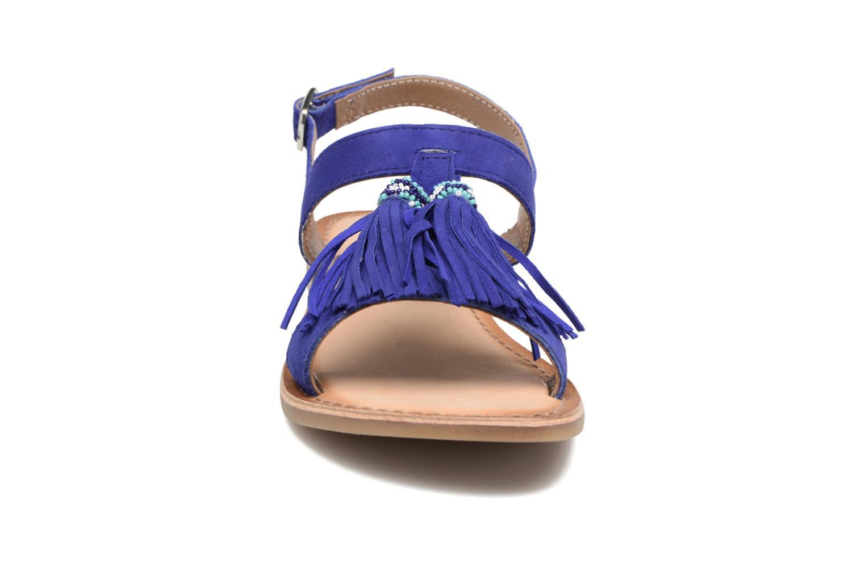 Sandales et nu-pieds Gioseppo Guarani Bleu vue portées chaussures