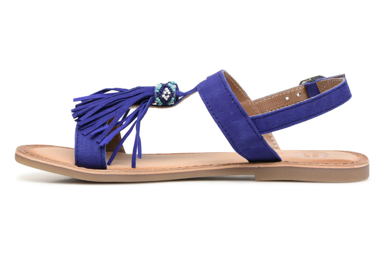 Sandales et nu-pieds Gioseppo Guarani Bleu vue face