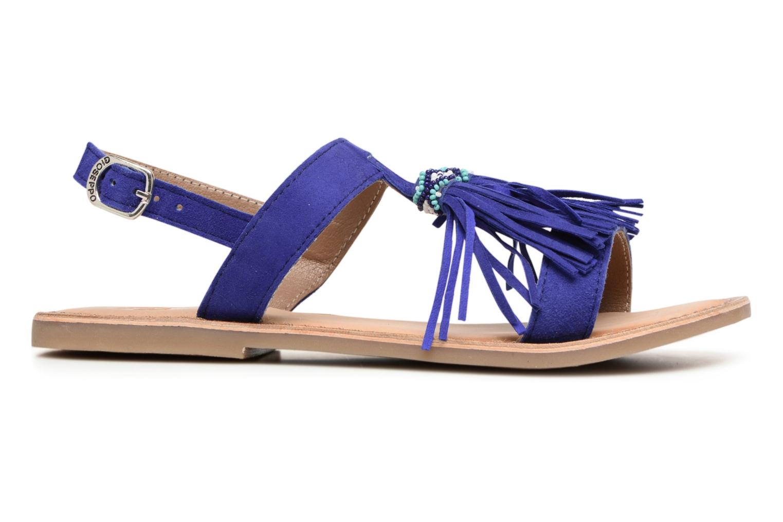 Sandales et nu-pieds Gioseppo Guarani Bleu vue derrière