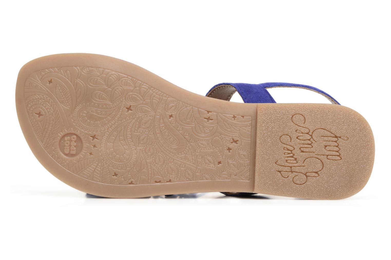Sandales et nu-pieds Gioseppo Guarani Bleu vue haut