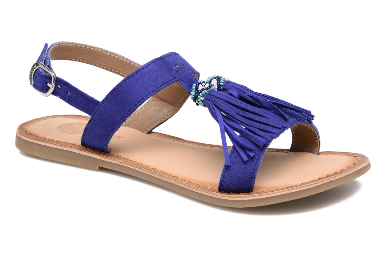 Sandales et nu-pieds Gioseppo Guarani Bleu vue détail/paire